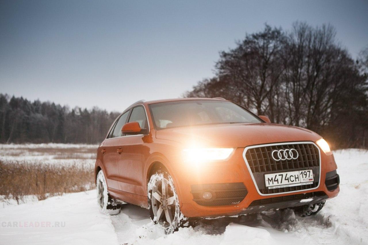 Audi Q3 на бездорожье