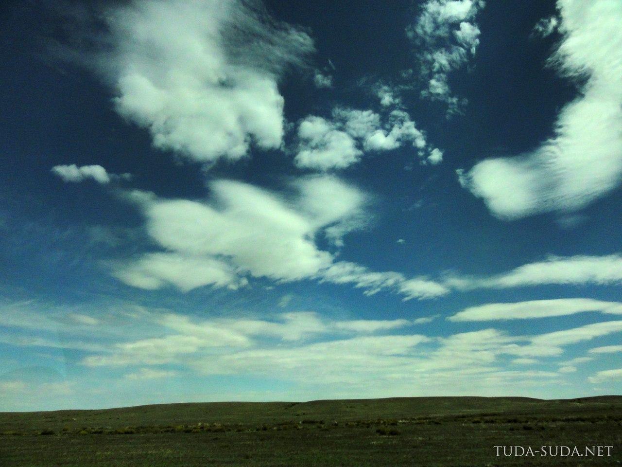 Облака в Казахстане
