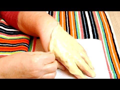 Снимаю Старую Кожу. Супер способ сделать руки молодыми в 60 лет.