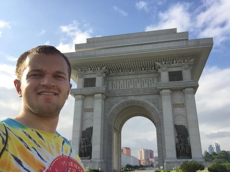 Отчет о путешествии в Северную Корею Триумфальная арка в Пхеньяне