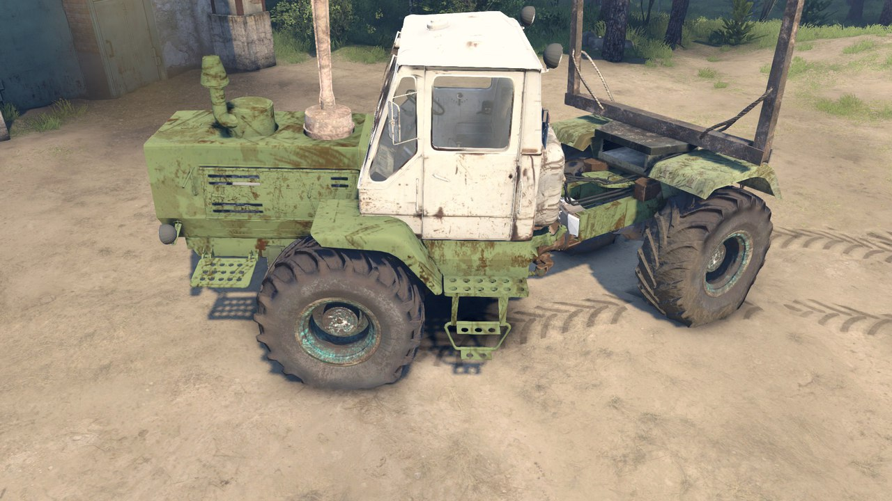 ХТЗ Т-150К Лесовоз для Spintires - Скриншот 2