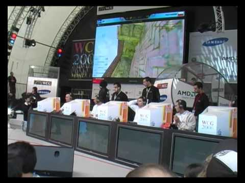 World Cyber Games 2006 Final Nip vs Pentagram WCG Counter-Strike 1.6