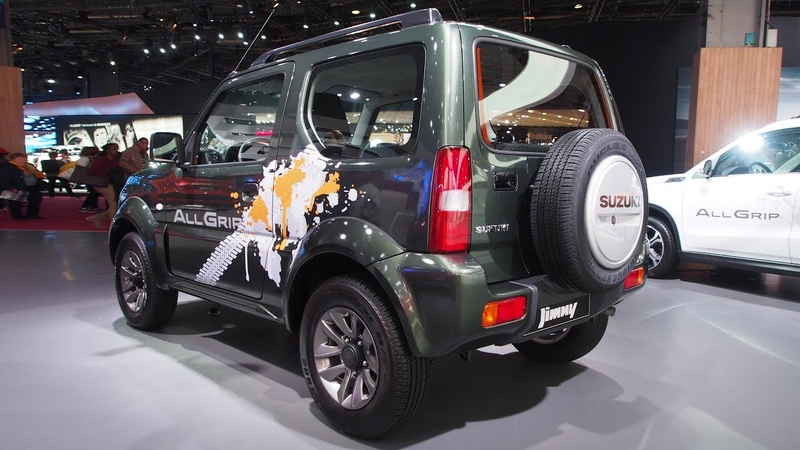 Suzuki Jimny 1 3 VVT AT JLX Auto 3 doors Exterior and Interior Lookaround