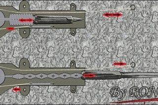Как сделать скрытые клинки из ассасин 96