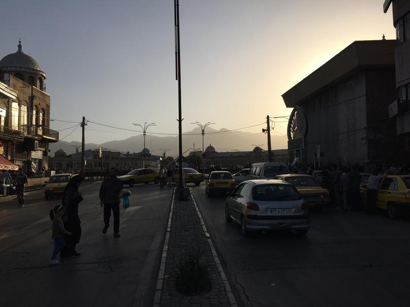 Иран 4. Закат в Хамедане
