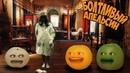 Болтливый Апельсин - 24 часа в доме с привидениями 24 ЧАСА Челлендж