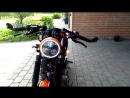 Yamaha XV750 Cafe Racer _ Bobber build