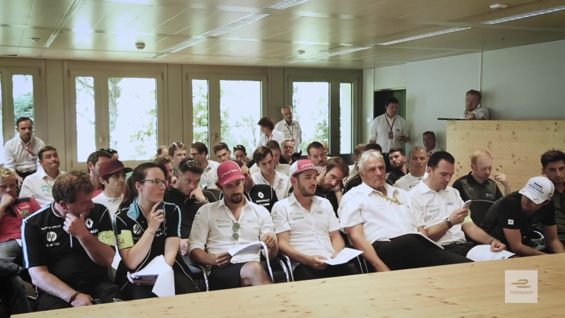 Inside The First Driver Briefing In Switzerland In 64 Years!