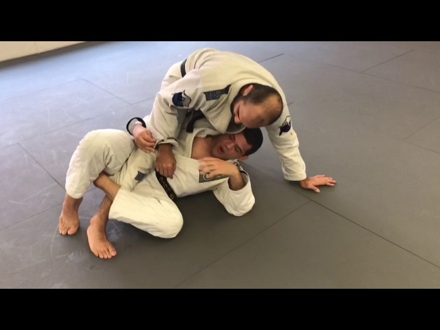 Deep Half Guard Sweep Controlling The Sleeve by Felipe
