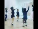 Крошки- балерины на открытом уроке 5.10.18 г