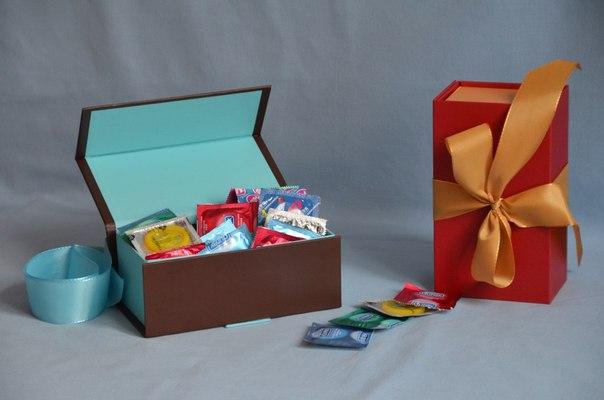 Подарки из презервативов 52