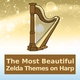 Video Game Harp Players, Zelda, Computer Games Background Music - Song of Storms