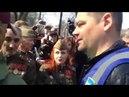 Нацимартышки с14 напали на пожилых людей у памятника Ватутина в Киеве