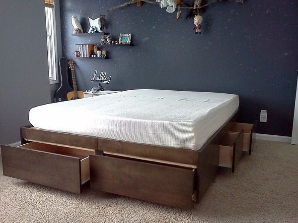 10 кроватей, которые помогут сэкономить место в спальне