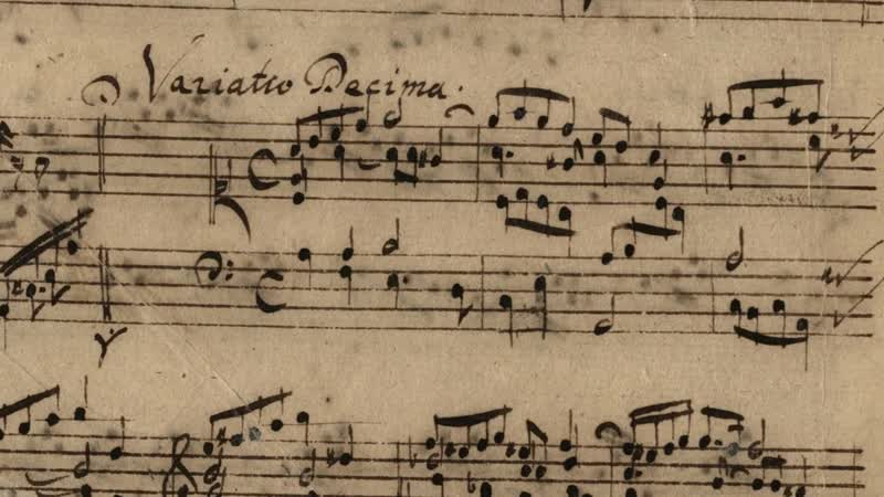 989 b J. S. Bach - Aria in A Minor, BWV 989 Variata alla maniera Italiana - Lars Ulrik Mortensen [AoB]