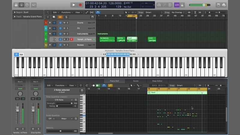 Academy.fm - 5 Tips for Writing Catchy Melodies and Chord Progressions in Logic Pro X