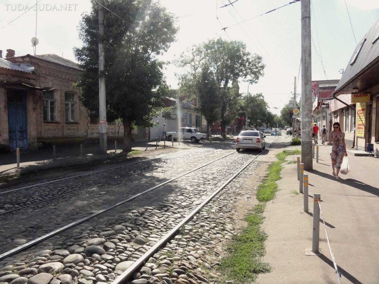 Старые улицы Краснодара