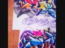 Nloeck nloek graffiti sketch art