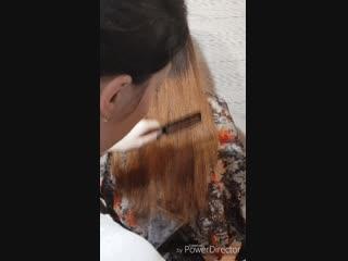 женская стрижка,убираем длину