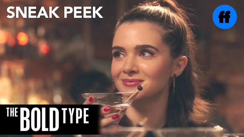 The Bold Type | Season 2, Episode 9 Sneak Peek Jane and Pinstripe at a Bar | Freeform