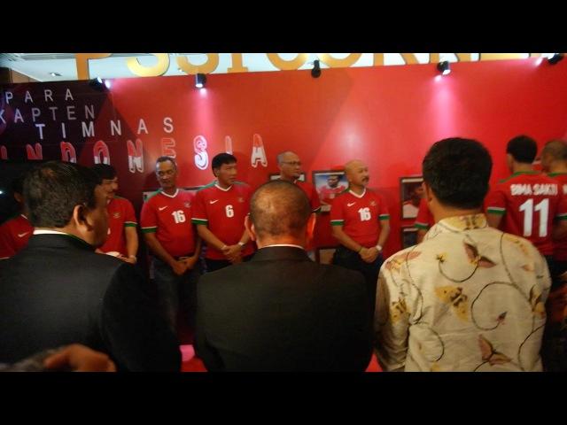 PSSI Suguhkan Parade Kapten Timnas Pada Kongres Tahunan 2017