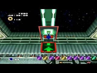 Play in Sonic Adventure 2 Battle Hero Story part 21 (Crazy Gadget)