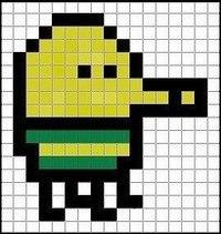 Пиксель арты схемы еды
