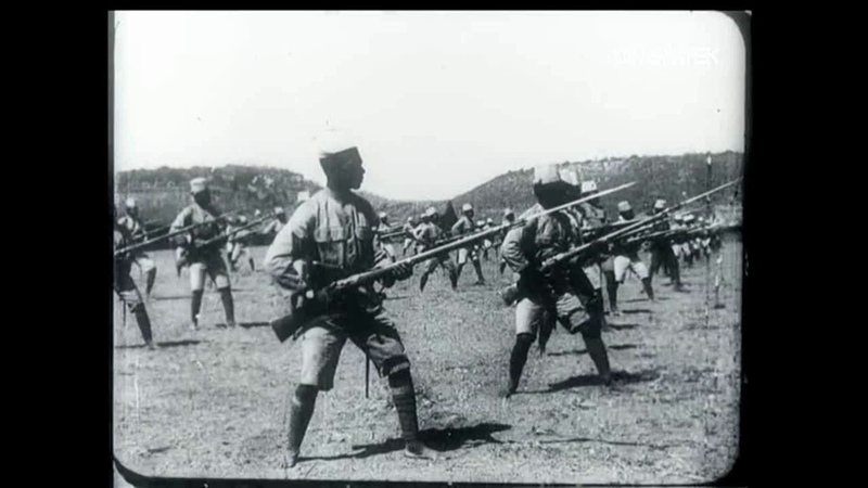 1917-1918 French/Belgian Bayonet (Solo-Kata-Fencing) -Colonial Soldiers