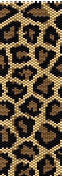 Схема для вышивки панно - тигр