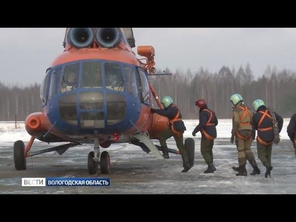 Сотрудники вологодской авиалесоохраны отрабатывали навыки десантирования