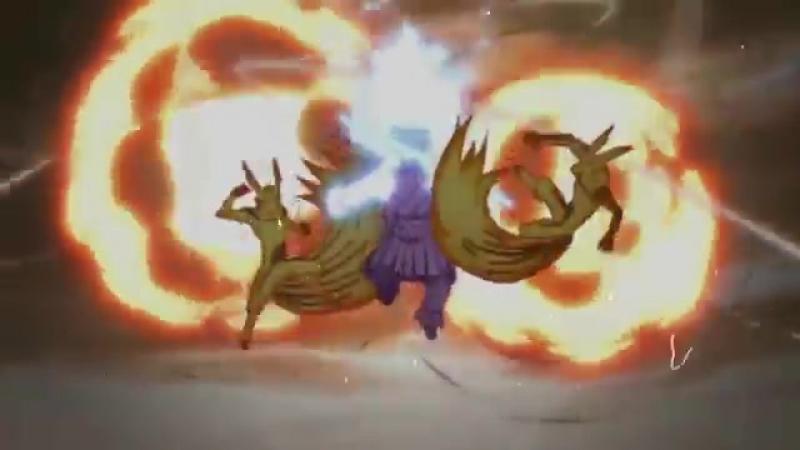 Наруто против Саске последний бой