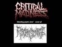 CRITICAL MADNESS (czech rep.) ´´bleeding peptic ulcer´´ REGURGITATE cover