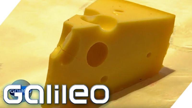 Loch im Käse Diese Dinge haben einen eigenen Namen! | Galileo | ProSieben