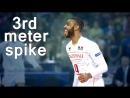 Earvin Ngapeth attack in 3rd meter - 3rd meter spike