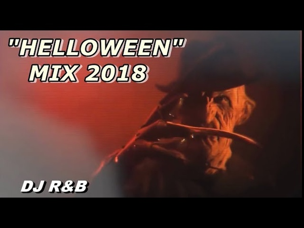 NEW BIG HALLOWEEN RETRO PARTY MIX by DJ RB - 2018