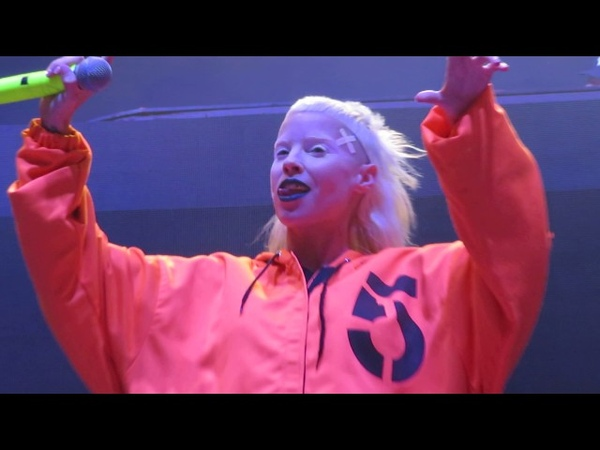 Die Antwoord Intro We Have Candy WAT KYK JY Blue Hills Pavillion Boston MA August 7 2017