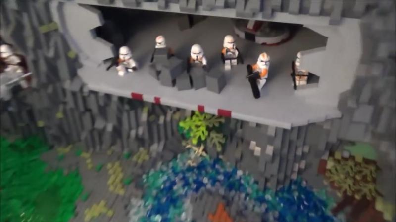 [SCW Productions] Lego Star Wars Clone Base on Arbra V.2 Moc Deutsch/German