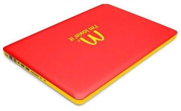 Макбук - макдональдс ноутбук