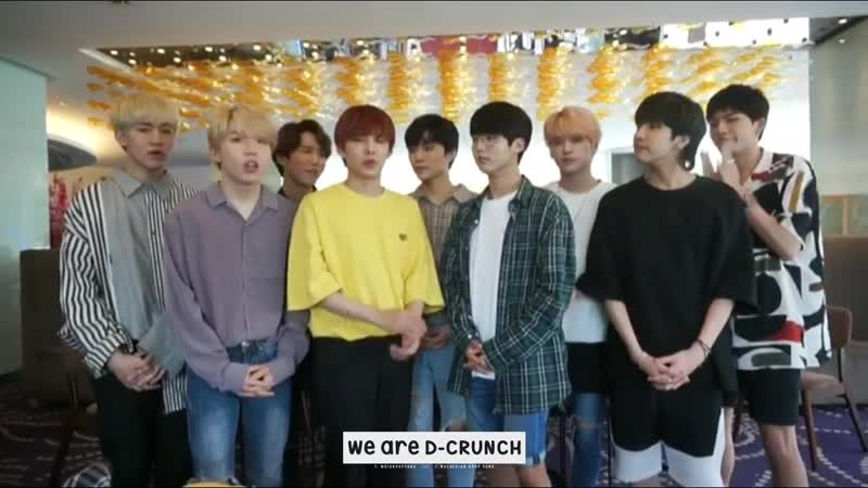 [DCRUNCHinMY] Special video message to Malaysian Dianas from D-Crunch