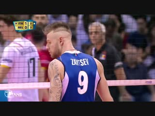 Ivan Zaytsev The King Of Volleyball In The World. Mens World Championship 2018