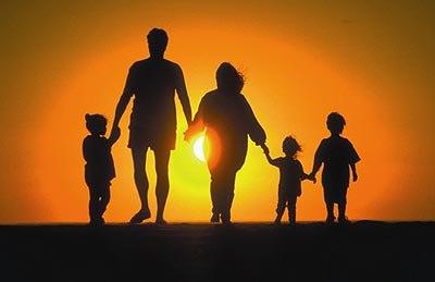 Счастливая семья а какая она