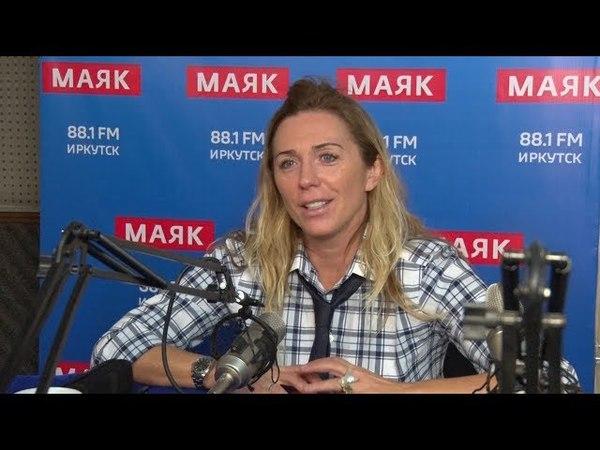 Радиоведущая Маргарита Митрофанова на радио