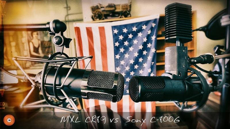 IN THE STUDIO with Asaf Fulks Episode 13 [Sony C-800G vs. MXL CR89]