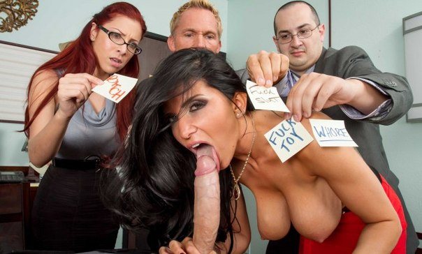 Romi Rain –  My Boss Is A Whore – Brazzers