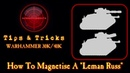 How To Magnetise A Leman Russ Warhammer 40k