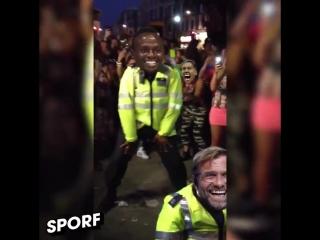 Jurgen Klopp celebrating Liverpool's win over Porto