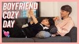 Boyfriends Rainy Day Vlog Couple Lazy Sunday (SUB)