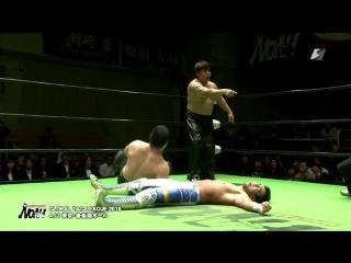Akitoshi Saito vs. Masao Inoue vs. Seiya Morohashi (NOAH - Global Tag League 2018 - Day 10)