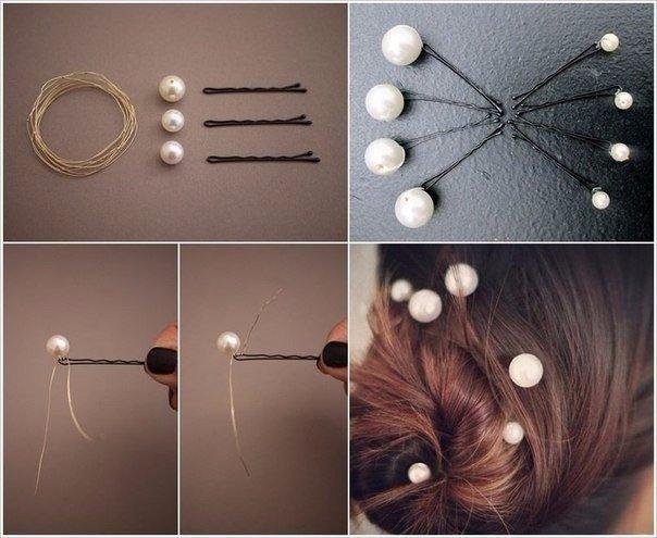 Делаем украшение для волос