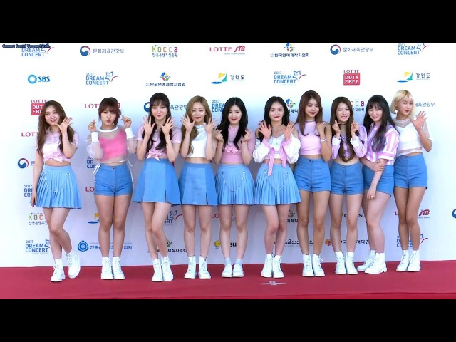 PRISTIN(프리스틴) '2017 DREAM CONCERT' Red Carpet (WEE WOO, Black Widow, 2017 드림콘서트)